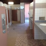 Interstate 10 Rest Area Bathroom